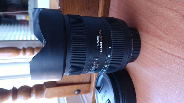 Sigma (for Nikon) 12-24 DG HSM (2версия.полный кадр)