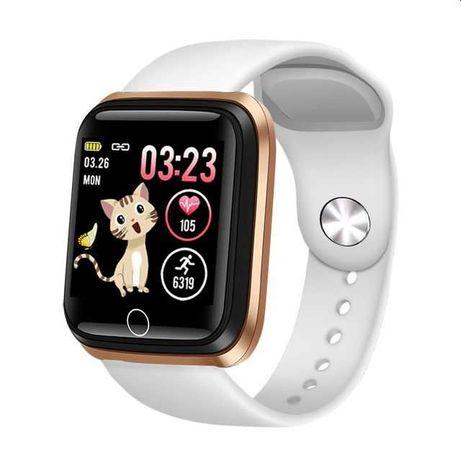 Nowy ! Smartwatch LIGE Zegarek Damski Puls Kroki Pudełko