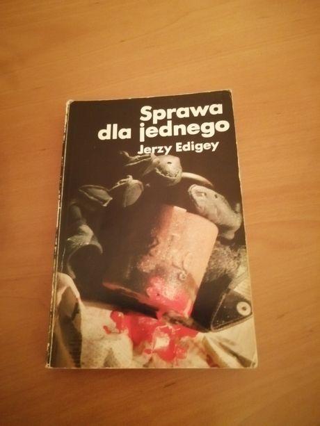 Książka Sprawa dla jednego Jerzy Edigey