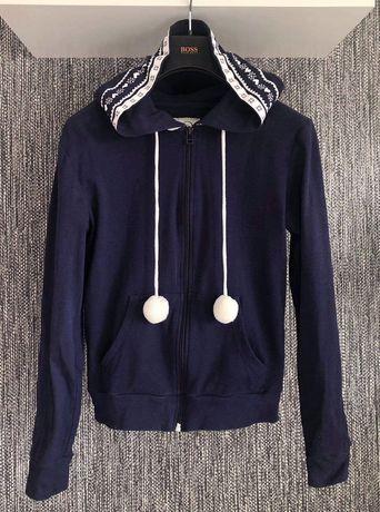 Bluza z kapturem pompony XS/S