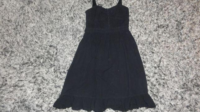 Czarna sukienka letnia NEW LOOK rozmiar 40