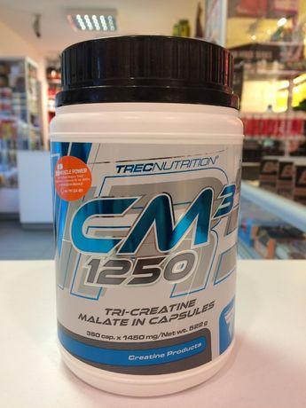 TREC CM3 - 360caps jabłczan kreatyny, siła, masa Muscle Power