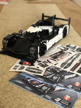 Lego technic Le Mans (com autocolantes por colar)