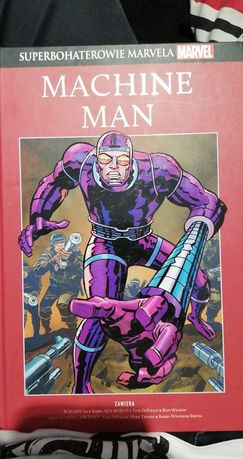 Komiks Machine Man