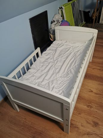 Łóżeczko dziecięce + materac + pościel 123x64