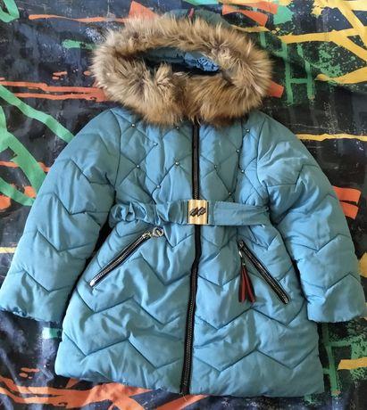 Детская зимняя куртка б/у