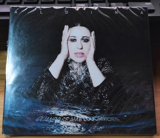 Aldina Duarte - Quando Se Ama Loucamente CD novo