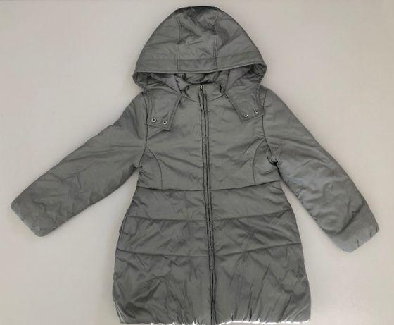 пальто зимнее для девочки, 8 лет, рост 134 Original Marines