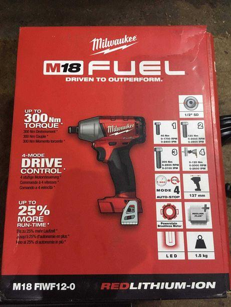Milwaukee klucz udarowy M18 FIWF12-0