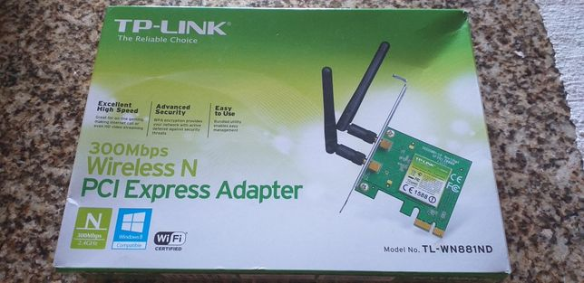 Placa de rede **nova** TP-Link TL-WN881ND