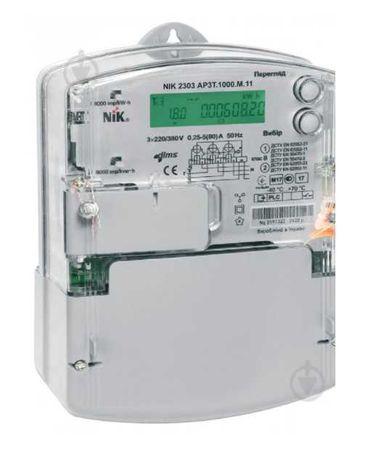 НІК 2303_НІК 2301_Teletec MTX_Двухзонний лічильник електроенергї