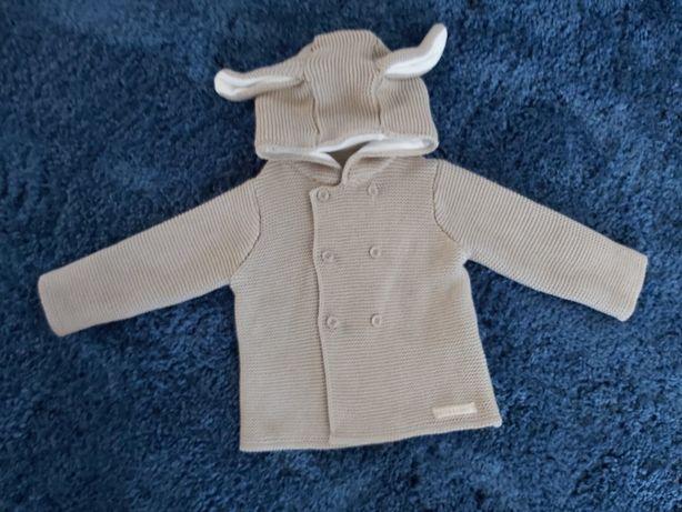 Sweterek ażurowy królik