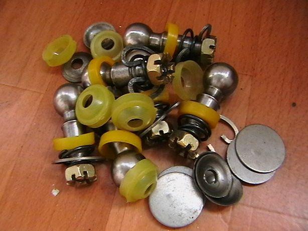 Пальцы рулевые ЗАЗ 968 ЗАПОРОЖЕЦ сухари пыльники тяги.