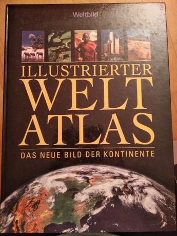Książka atlas niemiecki