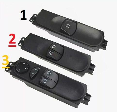 Comando interruptor vídros mercedes vito w639 Botão butoes 2003-14