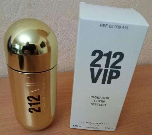 Carolina Herrera 212 VIP edp 80 мл Тестер Оригинал