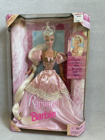 Barbie Rapunzel Roszpunka lalka kolekcjonerska unikat