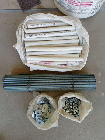 Szpilki, druty, śruby szalunkowe fi 10mm