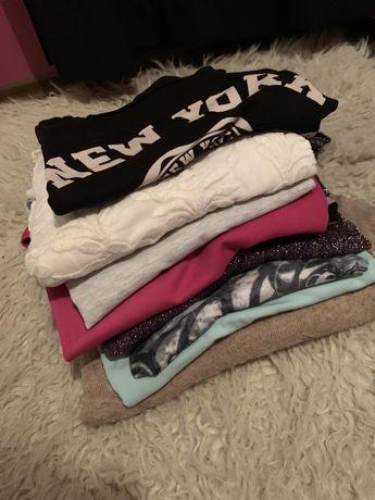 Zestaw 10 bluzek sweterków mohito d&g new york yessica roz M