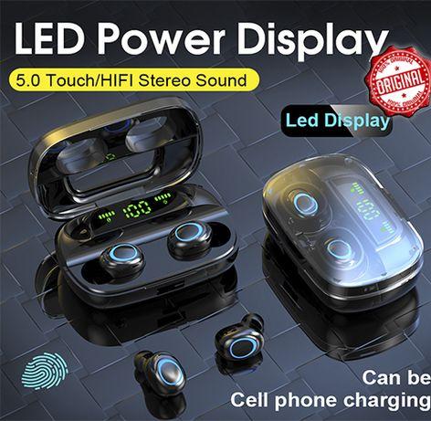 S11 TWS Мини Bluetooth 5.0 Наушники 9D Беспроводные powerbank 3500 мАч