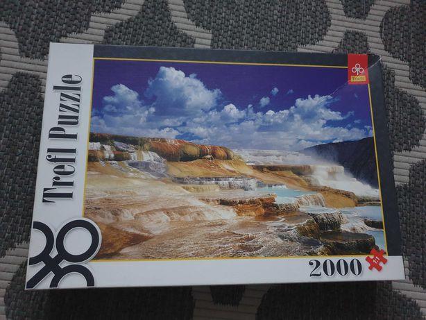 Oddam za darmo Puzzle Trefl 2000