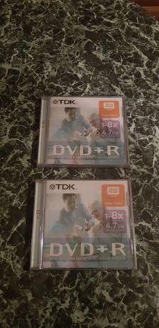 Czysta płyta dvd + R 4.7 gb Tdk nowa w folii