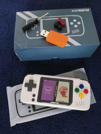 Konsola BittBoy Pocket Go, GameBoy, NES, SNES.