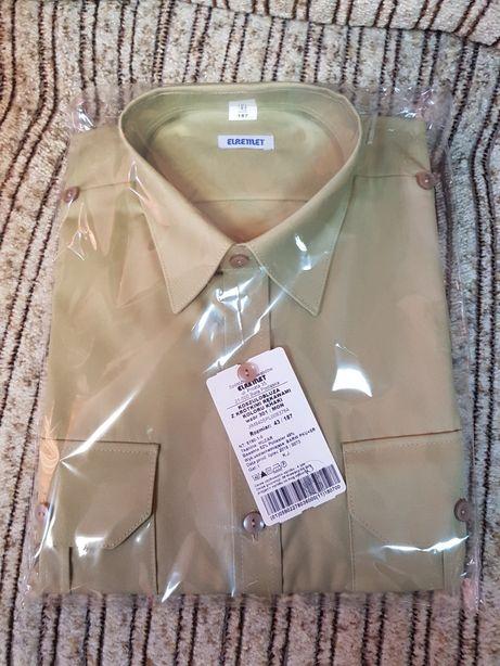 Koszulo-bluza khaki
