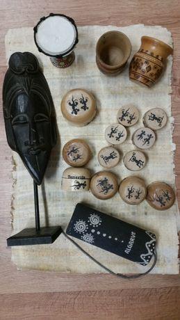 Pamiątki pudełeczka Egipt, Teneryfa zestaw ze zdjecia