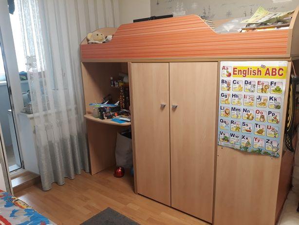 СРОЧНО! Детская стенка-кровать+матрас в комплекте