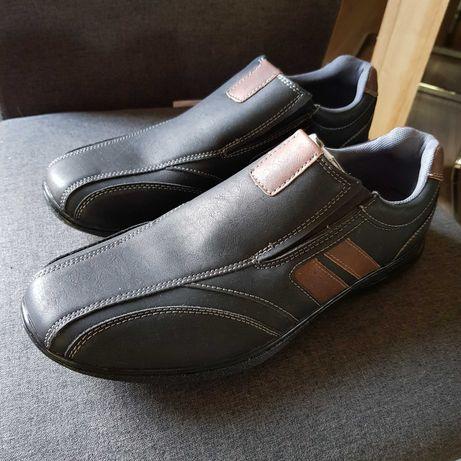 Nowe buty meskie z eko skóry rozmiar 45 WYPRZEDAŻ 50zl