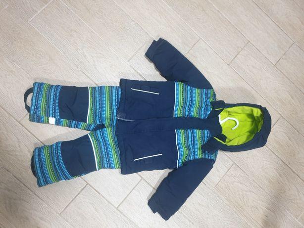 Зимняя термо куртка + комбинезон