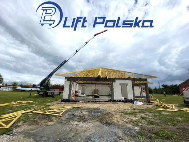 Usługi dźwigowe wynajem żurawia dźwig Opole Wrocław firma Lift Polska