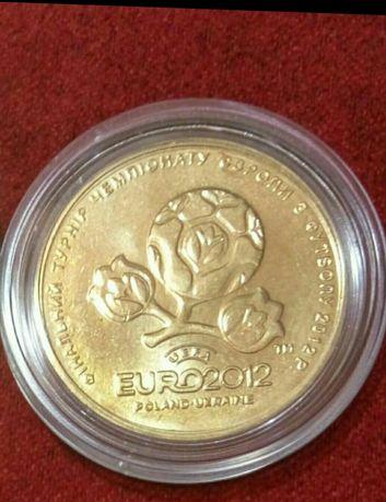 1 гривня Євро 2012 в капсулі.