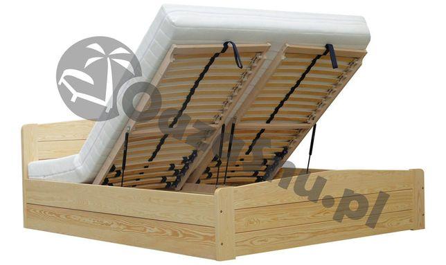 EDEN 160x200 łóżko z pojemnikiem stelaż elastyczny mocna kostrukcja