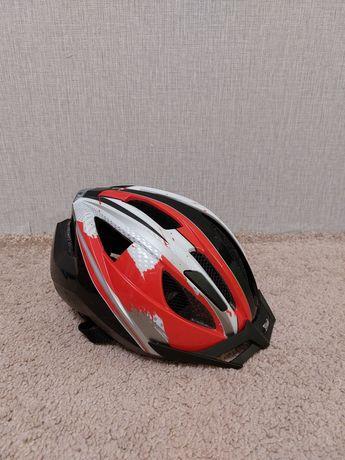 Велошлем детский, велосипедный шлем Crivit LED. На голову 49-54 см.