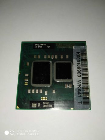 Процесор для ноутбука Intel Core™ i3-370M