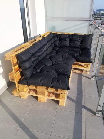 Piękny zestaw wypoczynkowy z poduszkami!
