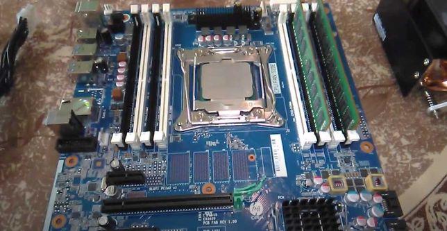Продам комплект Xeon E5-2670 v3 , 16 GB DDR4 , HP Z440 , кулер !