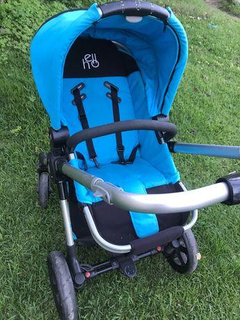 Conjunto carrinho de bebé