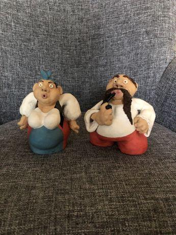 Статуэтки Карась и Одарка