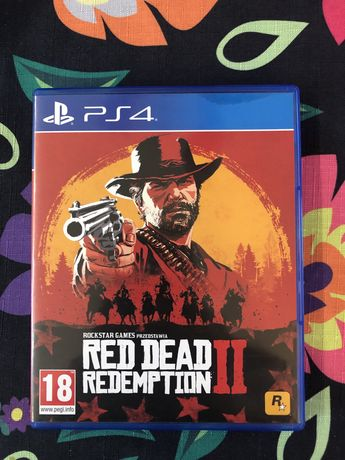Gra Red Dead Redemption 2 na ps4