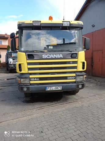 Wywrotka Scania 360 124c 8X4