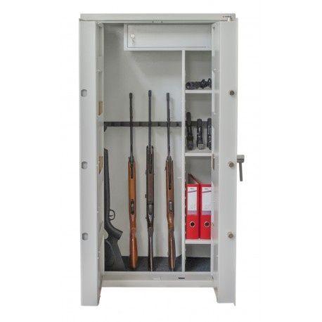 NOWOŚĆ szafa na broń S1 16 luf PRAKTIKER, głębokość 45 cm, faktura VAT