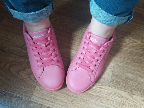 Różowe buty sportowe adidasy Graceland