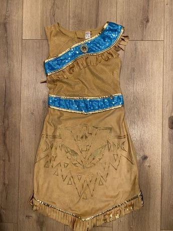 Продам новое платье Покахонтас Дисней. Оригинал 9-10 лет 135-140 см