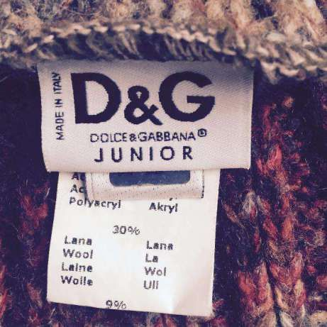 Шарф , шарфик Dolce & Gabbana Junior (шерсть)
