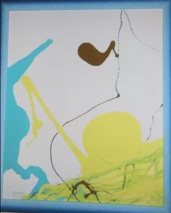 "Картина ""Интуиция и форма"" (репродукция)"