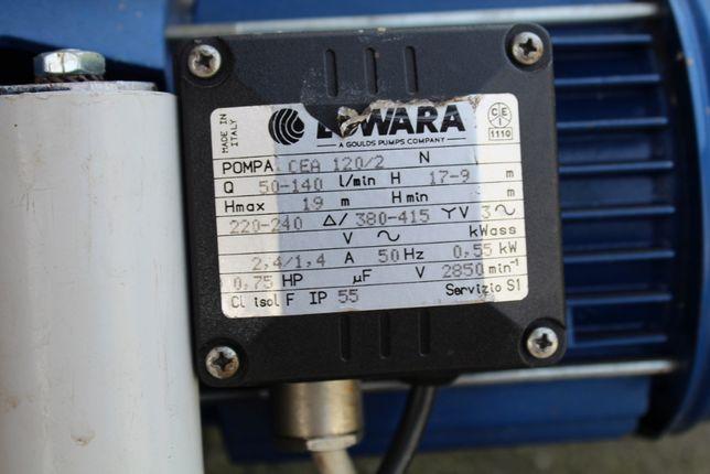 Pompa LOWARA odsrodkowa stan bardzo dobry sprawna.