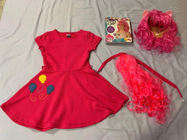 Strój kostium przebranie Pinkie Pie MLP roz. 134 cm